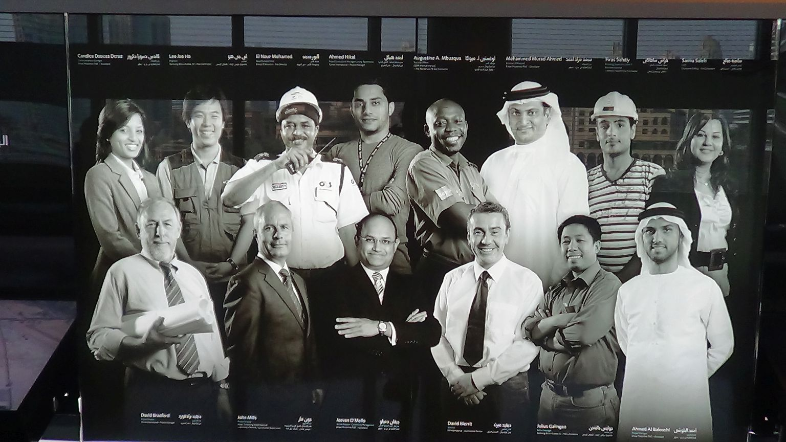 An Intercultural Team from Dubai